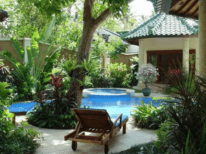 Relax by your own private pool at Bali Emerald Villas Sanur