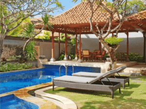 Relax and enjoy your private pool at Sudamala Suites and Villas Sanur